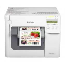 IMP. EPSON ColorWorks C3500 USB + ETHERNET BEIGE